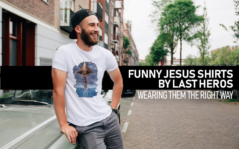Jesus T-Shirts By Last Heros