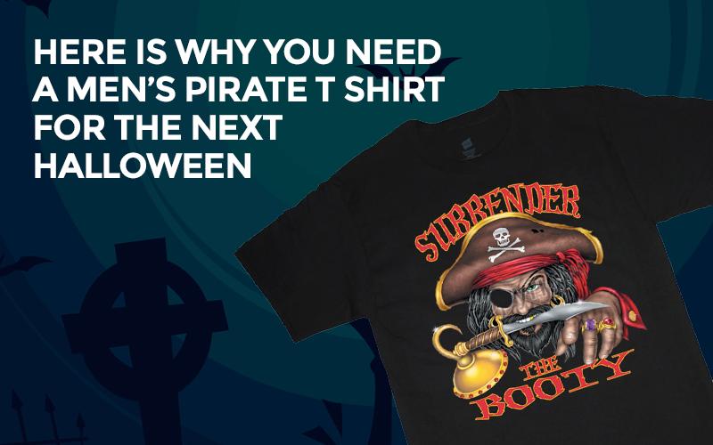 Men's Pirate T-Shirt